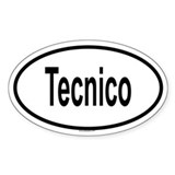TECNICO Oval Decal