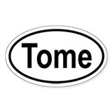 TOME Oval Decal