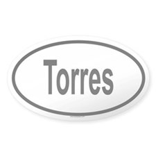 TORRES Oval Decal