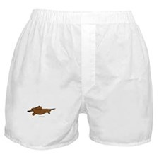 Weenie Dog Boxer Shorts