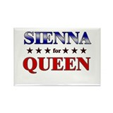 SIENNA for queen Rectangle Magnet (10 pack)