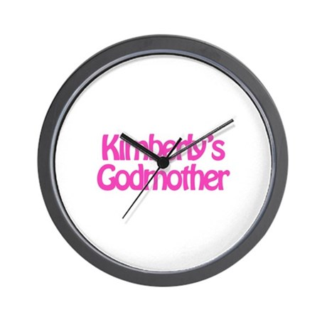 Kimberly's Godmother Wall Clock