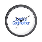 Jonah's Godmother Wall Clock