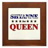 SHYANNE for queen Framed Tile