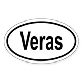 VERAS Oval Decal