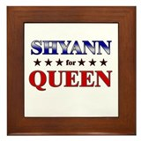 SHYANN for queen Framed Tile