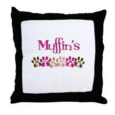 Muffin's Sister Throw Pillow