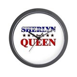 SHERLYN for queen Wall Clock