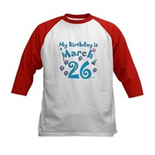 March 26th Birthday Tee