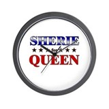 SHERIE for queen Wall Clock