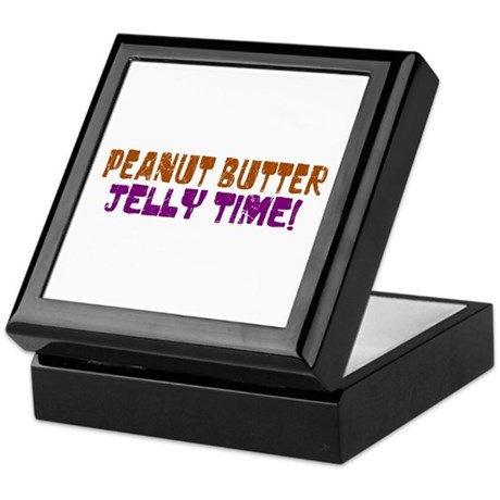 Peanut Butter Jelly Time Keepsake Box