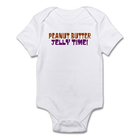 Peanut Butter Jelly Time Infant Bodysuit