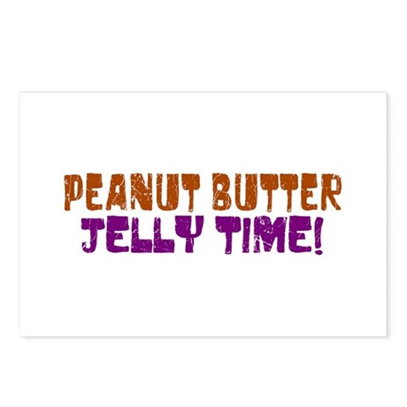 Peanut Butter Jelly Time Postcards (Package of 8)