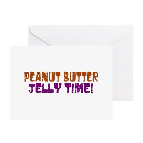 Peanut Butter Jelly Time Greeting Cards (Pk of 10)