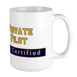 FAA Certified Private Pilot Ceramic Mugs