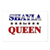 SHAYLA for queen Postcards (Package of 8)
