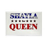 SHAYLA for queen Rectangle Magnet