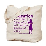 Teachers Rock! Tote Bag