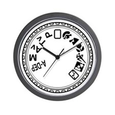 Mode Dial Wall Clock