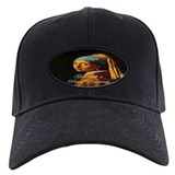 Girl with a Pearl Earring Baseball Hat