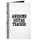 awesome guitar teacher Journal