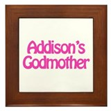 Addison's Godmother Framed Tile