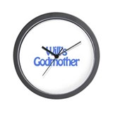 Will's Godmother Wall Clock