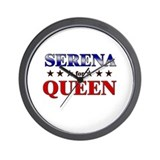 SERENA for queen Wall Clock