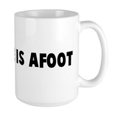 The game is afoot Mug