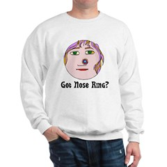 Nose Ring Sweatshirt