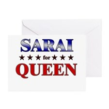SARAI for queen Greeting Cards (Pk of 20)