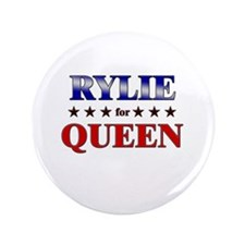 """RYLIE for queen 3.5"""" Button"""