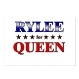 RYLEE for queen Postcards (Package of 8)