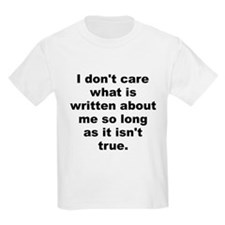 Unique Care about T-Shirt