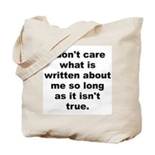 Cute Care about Tote Bag