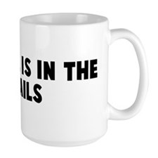 The devil is in the details Mug