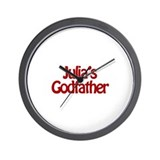 Julia's Godfather Wall Clock