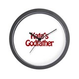 Kate's Godfather Wall Clock
