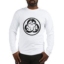 Samurai Ghost Dog Crest Long Sleeve T-Shirt
