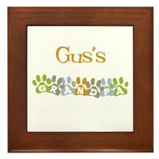 Gus's Grandpa Framed Tile