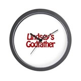 Lindsey's Godfather Wall Clock