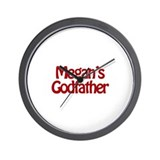 Megan's Godfather Wall Clock