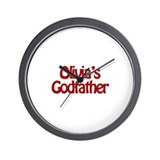 Olivia's Godfather Wall Clock