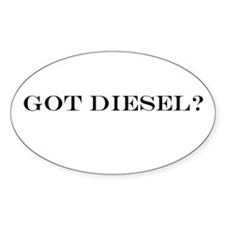 Got Diesel? Oval Decal