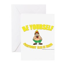 Be Yourself Greeting Cards (Pk of 10)