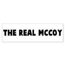 The real mccoy Bumper Bumper Sticker
