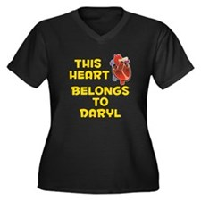 This Heart: Daryl (A) Women's Plus Size V-Neck Dar