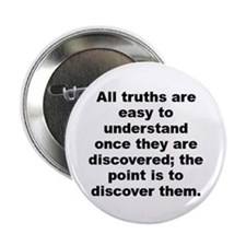 "Cute The truth 2.25"" Button"