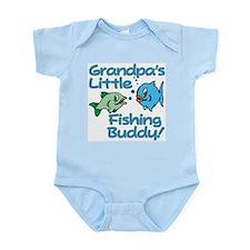 GRANDPA'S LITTLE FISHING BUDDY! Onesie
