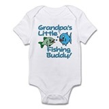 GRANDPA'S LITTLE FISHING BUDDY! Infant Bodysuit